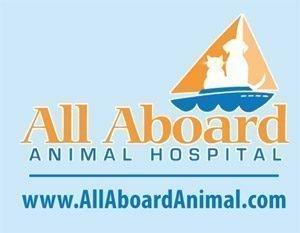 All Aboard Animal Hospital Logo