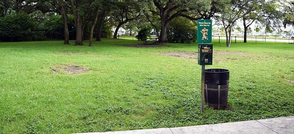 Dog Park at John Williams Park Large Dog Side 1