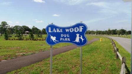 Lake-Woof-Dog-Park-John-Prince-Park-sign