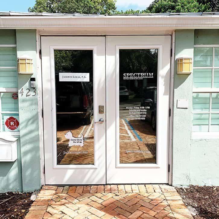 Spectrum Title Doors Office