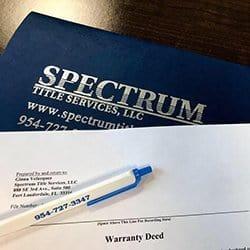 Spectrum Title Services Logo